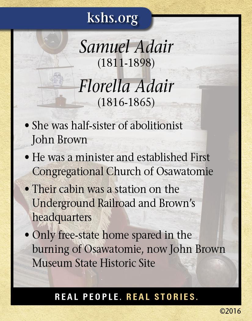 Samuel and Florella Adair