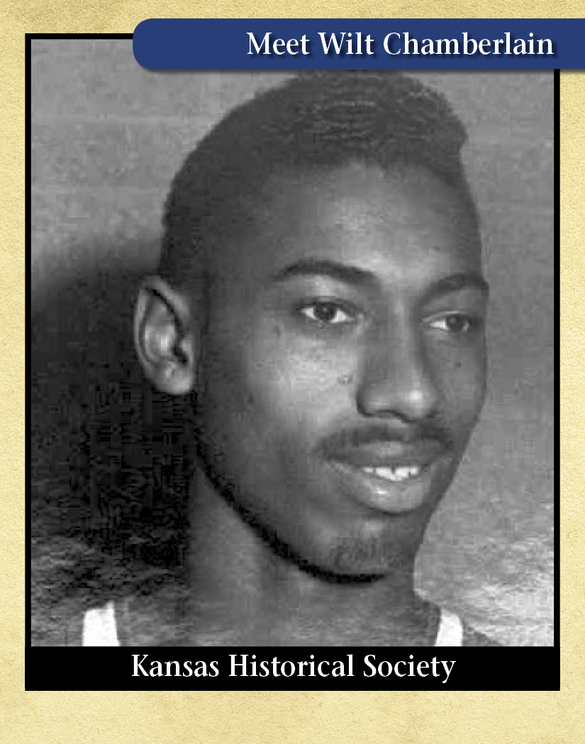 Wilt Chamberlain, professional basketball player