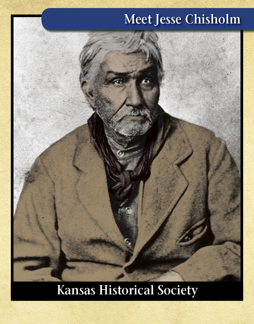 Jesse Chisholm, Indian trader and guide