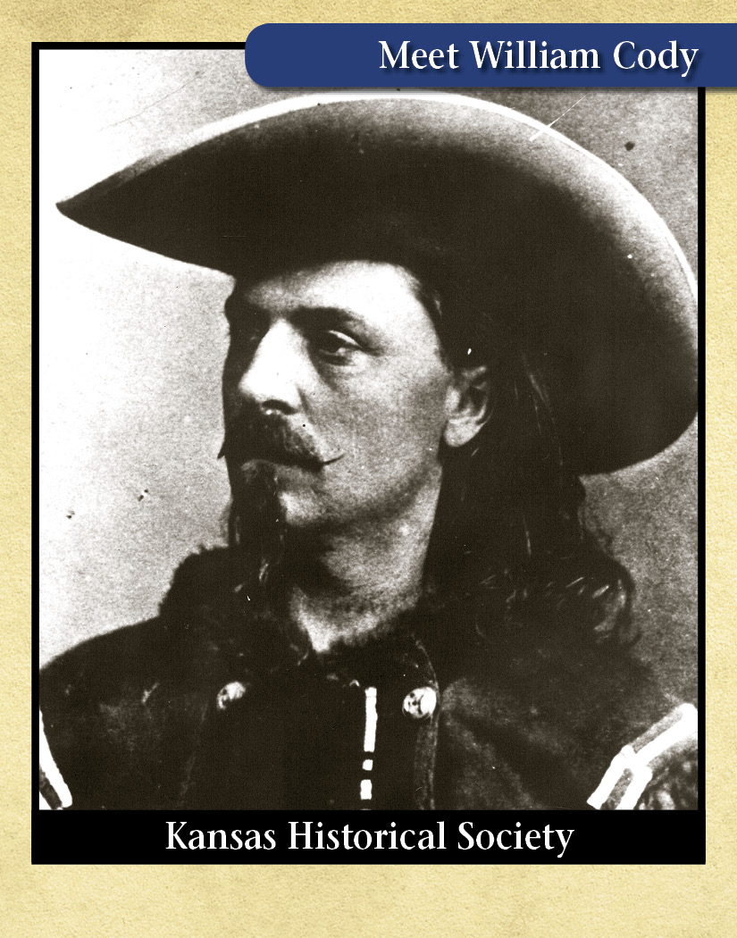 William (Buffalo Bill) Cody, millitary scout and buffalo hunter