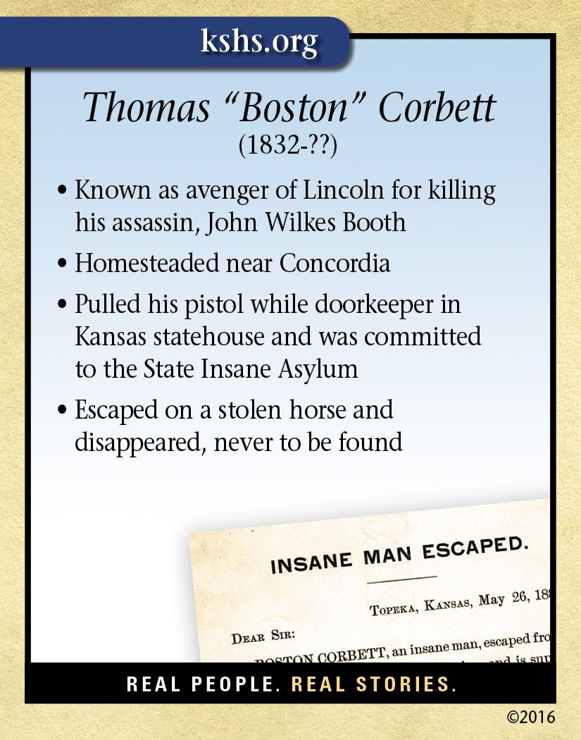 Thomas Boston Corbett