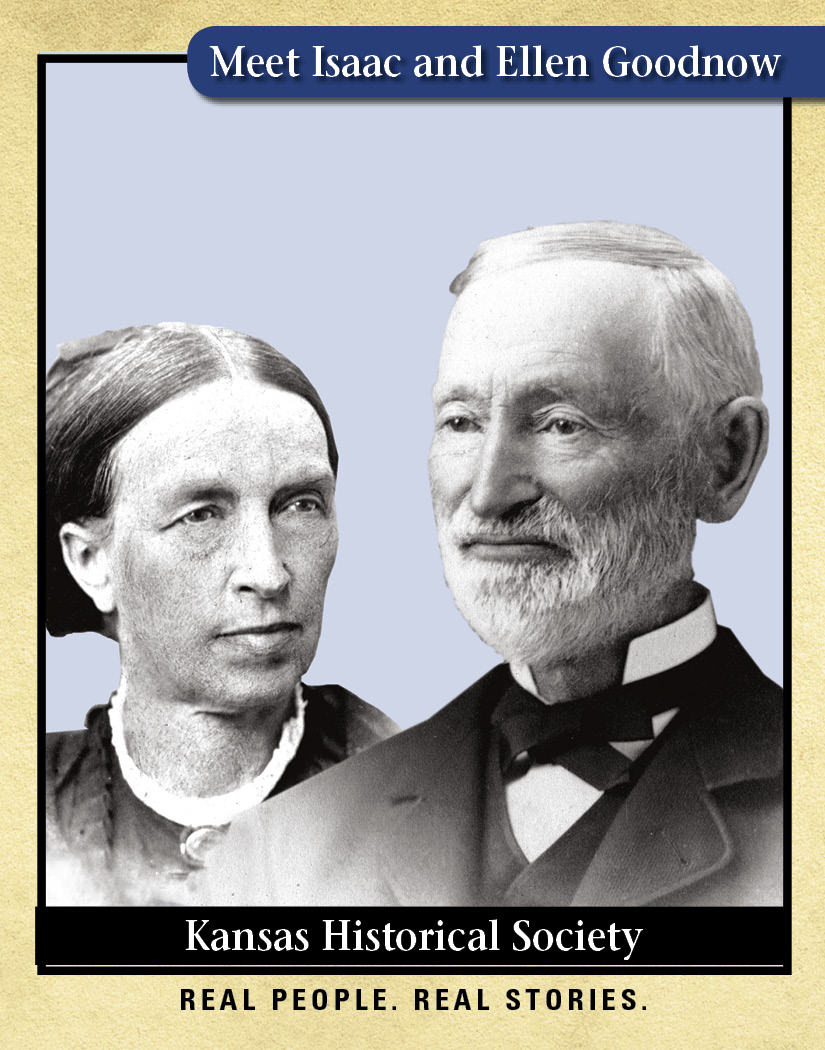 Isaac and Ellen Goodnow