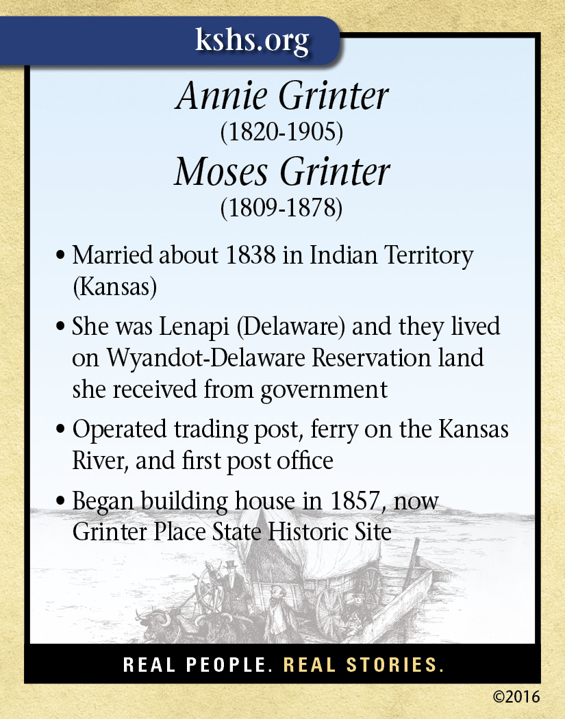 Annie and Moses Grinter