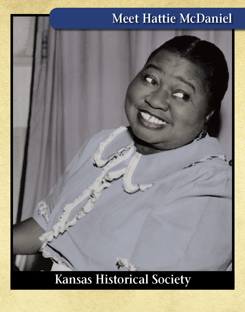 Photograph of Hattie McDaniel