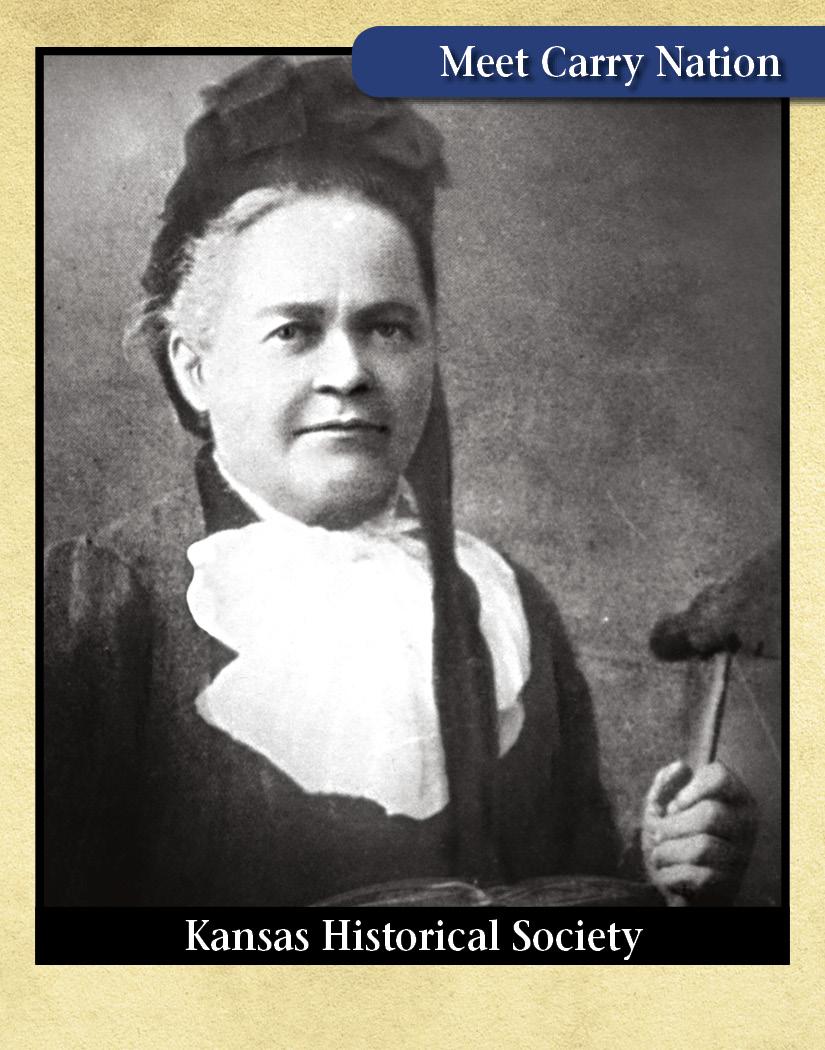 Carry Nation - Kansas Historical Society