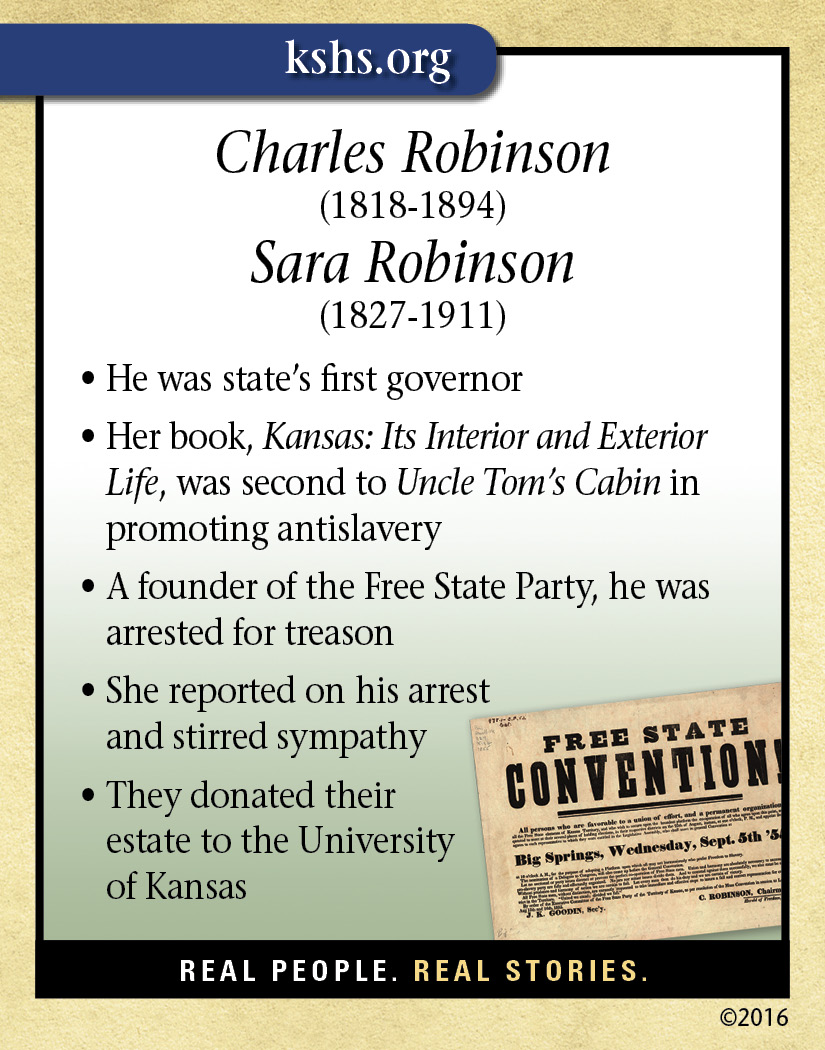 Charles and Sara Robinson