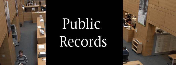 Public records program at the Kansas Historical Society