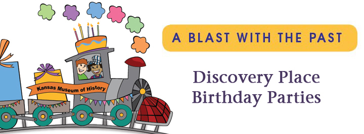 Birthday parties at the Kansas Historical Society, Topeka