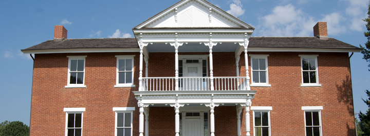 Facility rental at Grinter Place State Historic Site, Kansas City