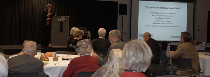 Meetings and conferences, Kansas Historical Society, Topeka