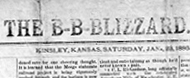 The B-B-Blizzard newspaper from Kinsley