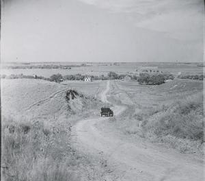 Photo of countryside near Dorrance by L.W. Halbe