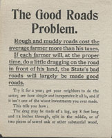 Good roads problem pamphlet