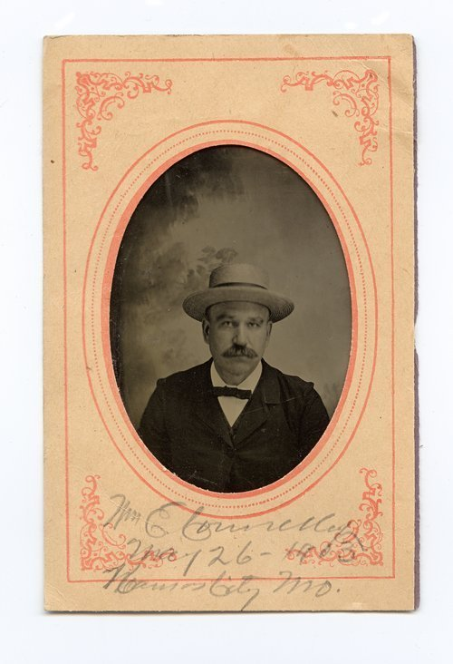 Tintype of William Elsey Connelley