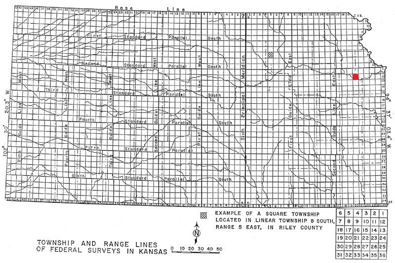 Kansas Land Survey Plat Maps and Field Notes - Kansas Historical Society