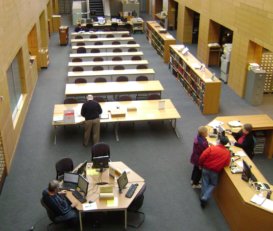 Kansas Historical Society reading room
