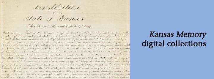 Kansas Memory: Kansas Constitution, 1859
