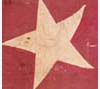 Southern Rights flag captured at the Battle of Hickory Point by free-state forces