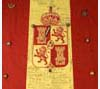 Spanish banner captured in the Philippines during the Spanish-American War