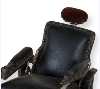 Barber chair salesman sample marketed by Topeka manufacturer