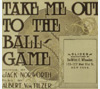 Take me out to the ball game, song slide