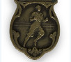 Track meet medal for one-mile relay, 1936
