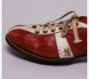 Track shoe worn by Wes Santee at 1952 Helsinki Olympics