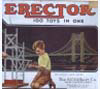 Erector set made in 1935 and used in Nortonville, Kansas
