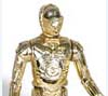 C-3PO action figure for Star Wars, made by Kenner Products, 1977