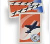 Squadron Scramble card game featuring WWII military airplanes