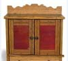 Oak cupboard used in Osage County, Kansas, ca. 1900