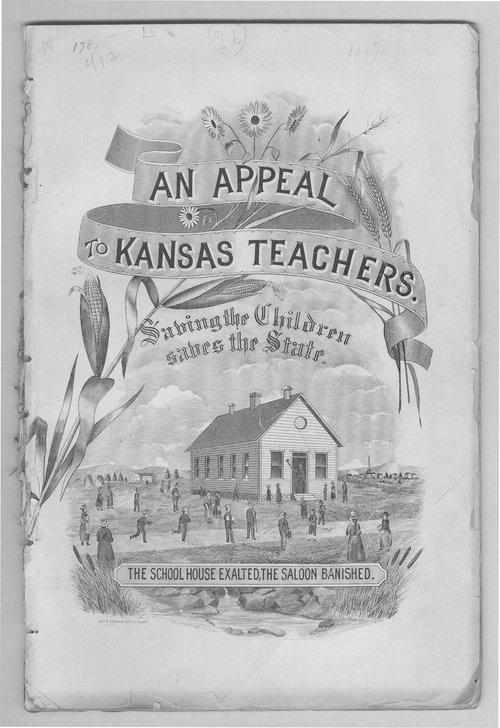 Temperance pamphlet, 1889