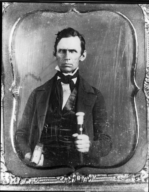 Dr. Abraham Still, Shawnee Methodist Mission, 1850s