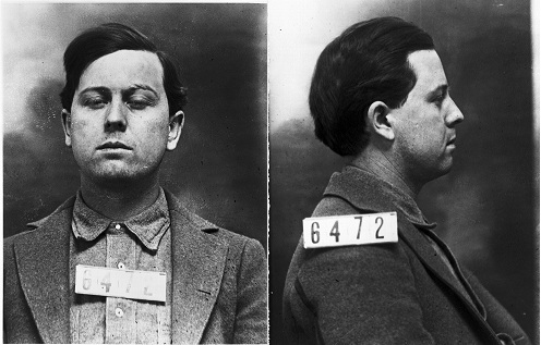 Kansas State Prison mugshot of Emmett Dalton