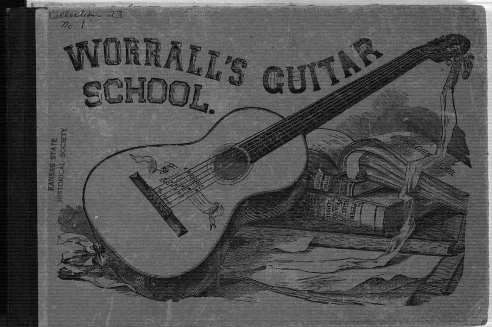Worrall's guitar school text, 1884