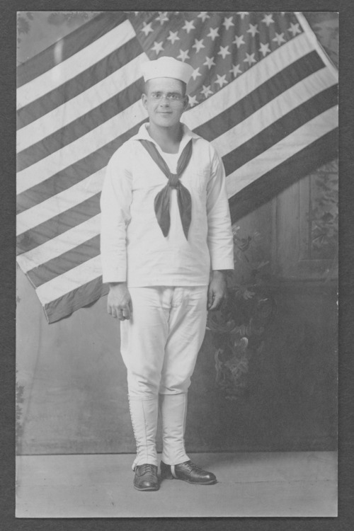 Allen Trachsel, a World War I sailor from Goodland, Kansas