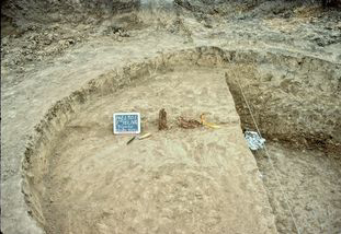 Fort Hays excavation