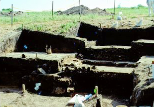 Fort Ellsworth excavation