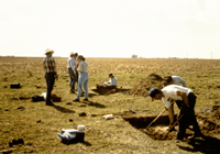 Fort Wallace excavation
