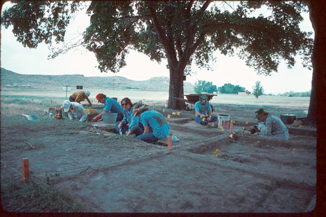 photo Kansas Archeology Training Program, 1976
