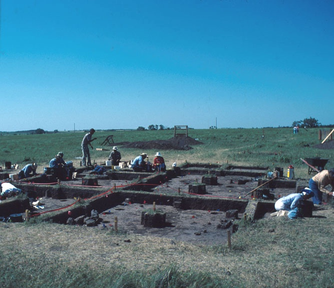 photo Kansas Archeology Training Program, 1978