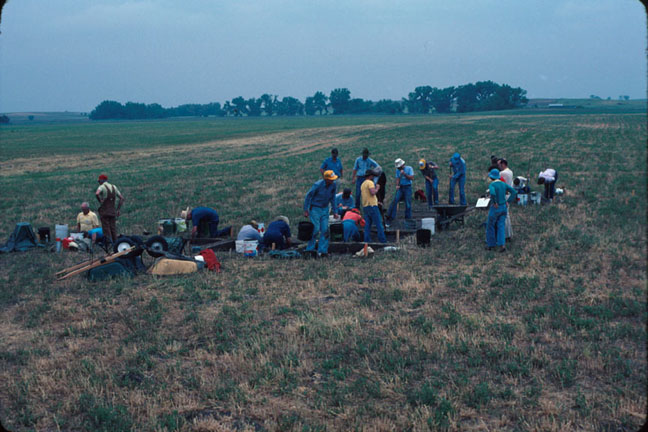 photo Kansas Archeology Training Program, 1984