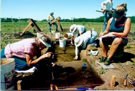 photo Kansas Archeology Training Program, 2001