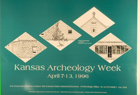 Kansas Archeology Week, 1996