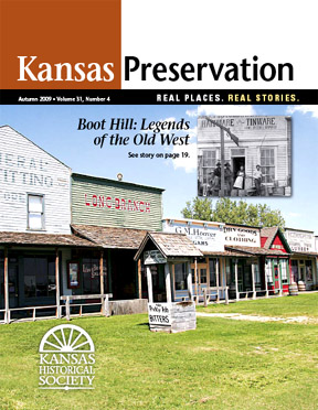 Kansas Preservation, Autumn 2009