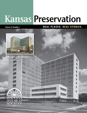 Kansas Preservation, Volume 33, Number 1, 2011