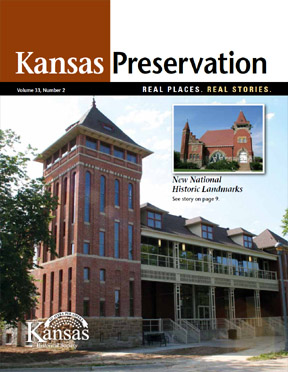 Kansas Preservation, Volume 33, Number 2, 2011