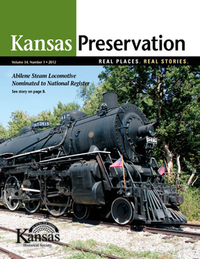 Kansas Preservation, Volume 34, Number 1, 2012