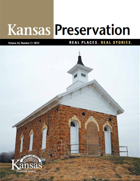 Kansas Preservation, Volume 34, Number 2, 2012