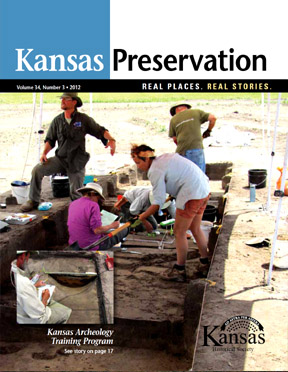 Kansas Preservation, Volume 34, Number 3, 2012